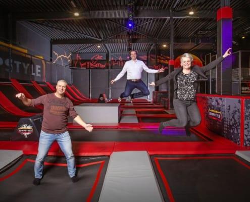 Ondernemersechtpaar Kramer springt vol in trampolinetrend